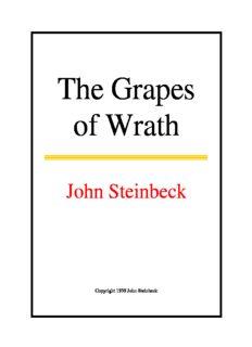 Grapes Of Wrath Steinbeck Ebook
