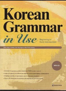 Korean For Beginners Pdf