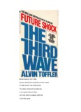 The Third Wave - Alvin Toffler - The CrossRoads Counselling Group