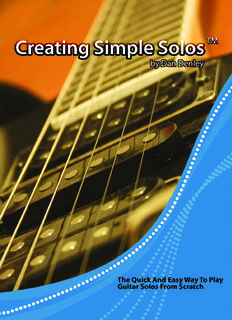 Creating Simple Solos - Amazing Guitar Secrets ( ebfinder.com ).pdf