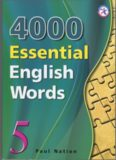 4000 Essential English Words