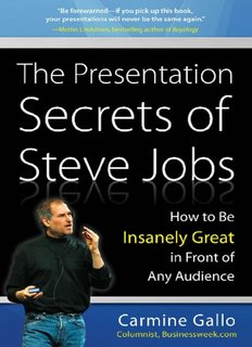 Presentation Secrets Of Steve Jobs