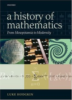 Hodgkin - A History of Mathematics From Mesopotamia to Modernity.pdf