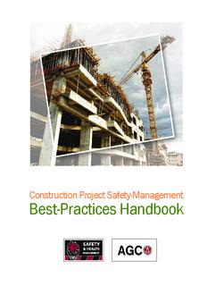 Construction Project Safety Management Best Practices Handbook