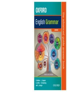 OXFORD English Grammar OXFORD