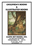 children's books & illustrated books
